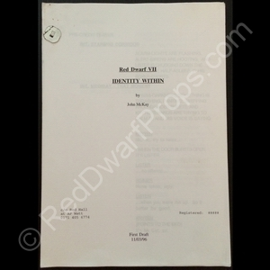 Identity Within lost episode script