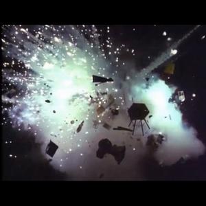 Red Dwarf explosion