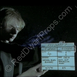 aces ship travelling away clapperboard