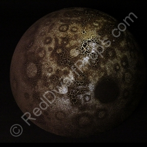 making a vfx model moon