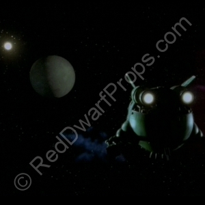 starbug flying towards moon